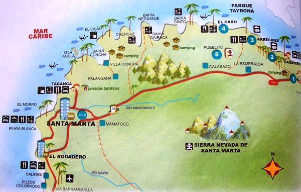 How to Tour Santa Marta, Colombia